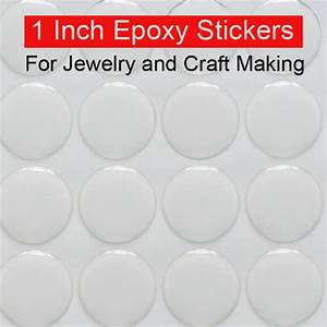 1 inch epoxy stickers adhesive circle stickers self for 1 inch round sticker labels