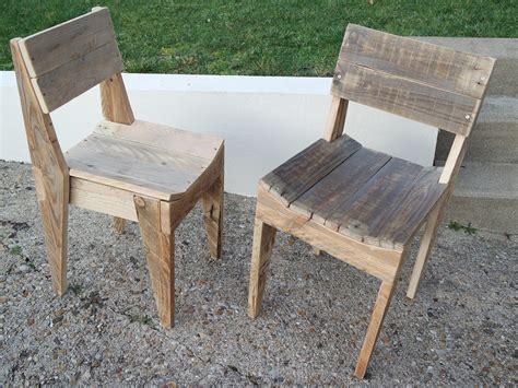 la chaise de bois la menuiserie 503 chaises en bois de palette