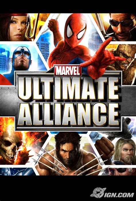 marvel ultimate alliance screenshots pictures