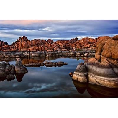 Granite Dells At Watson Lake Arizona 2 Photograph by Dave