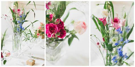 Hochzeit Blumendeko Tisch