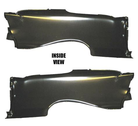 Chevy Hardtop Rear Full Quarter Panel Pair