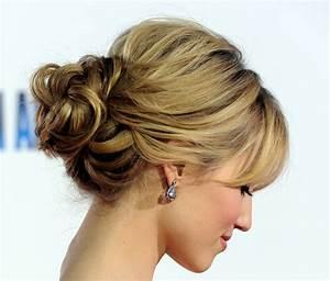 Voguish Bun Hairstyles For Prom 2019