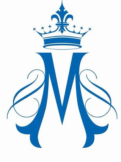 Mary Assumption Symbols Clipart Marian St Feast