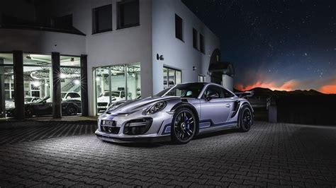 Techart Porsche 911 Turbo Gt Street R 2017 Wallpaper Hd