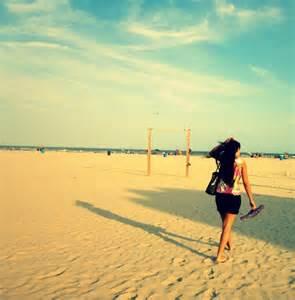 Summer Beach Galveston TX