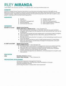 best summer teacher resume example livecareer With education teacher resume