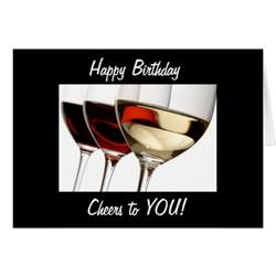 Cheers Happy Birthday Card