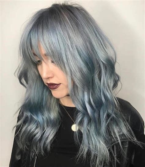 Hair Pictures by 36 Denim Hair Color Ideas To Match Your In 2017