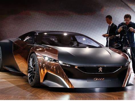 Peugeot Onyx  25 Coolest Cars At The Paris Auto Show
