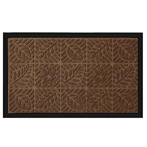 Thin Door Mat For Inside by Outside Shoe Mat Rubber Doormat For Front Door 18 X 30