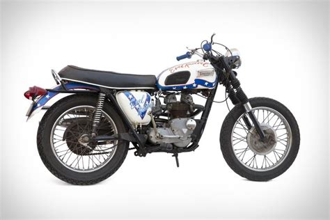 Evel Knievel's 1970 Triumph Motorcycle