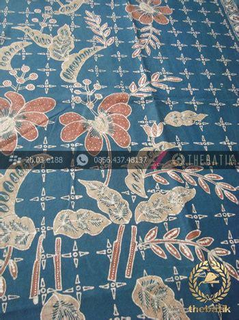 jual batik tulis warna alam motif buketan titik tosca