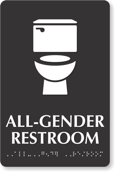 Gender Neutral Bathroom Signs by All Gender Restroom Signs Gender Neutral Restroom Signs