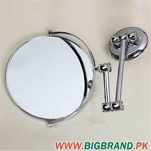 bathroom wall mounted extendable chrome magnifying mirror With wall mounted extendable mirror bathroom