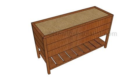 elevated planter box plans how to build a planter box howtospecialist how to