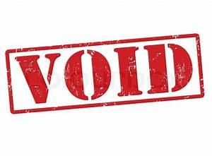 Void stamp | Stock Vector | Colourbox