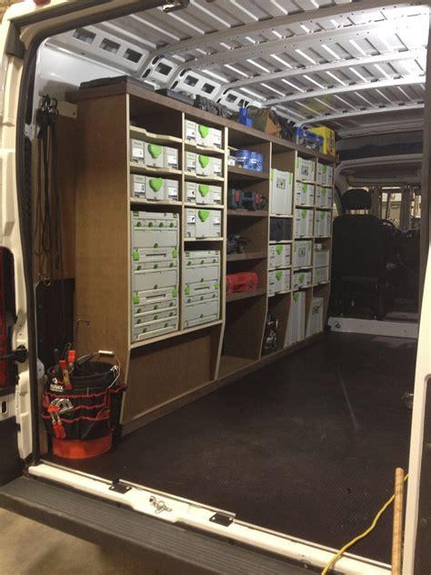 Ram Promaster Van Racking Project Work Trucks Vans