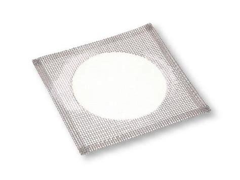 wire gauze square     ceramic circle