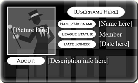 membership card template leo member card template by imyournumber1moron on deviantart