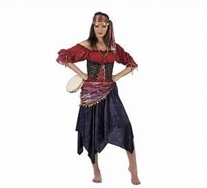 Deguisement Haut De Gamme : d guisement femme gitane deluxe haute gamme ~ Melissatoandfro.com Idées de Décoration
