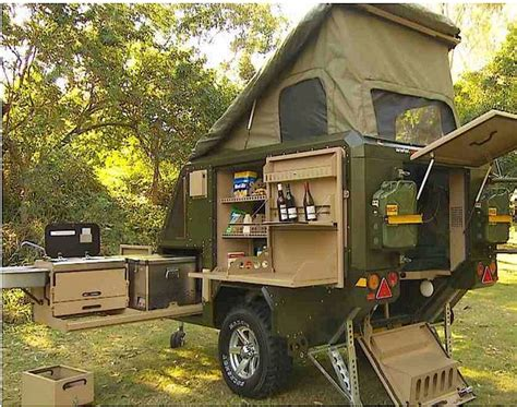 conqueror popup trailer   place     ready   treehugger