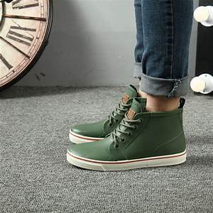 2017 NEW STYLE rainboots slip water shoes fishing boots ...