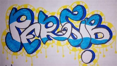 Grafiti Persib : Cara Menggambar Grafiti