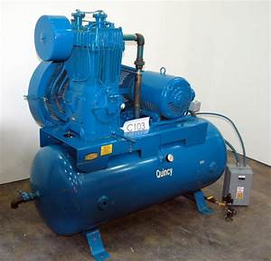 Educate Me Quincy 325 Air Compressor Pumps      Found One