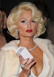 Paris Hilton Bob Curly Hair