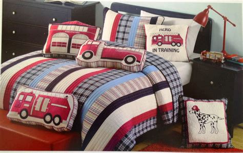 boys bedding just boys bedding firemen and trucks a must
