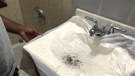 clean   bathroom sink   seconds