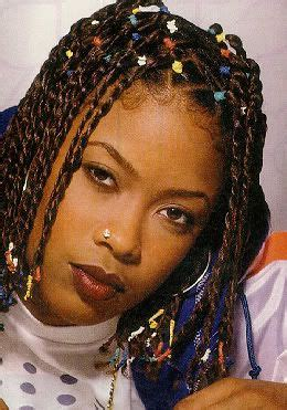 90s Hip Hop Hairstyles by Da Brat Images Hair Color Da Brat Hair Styles