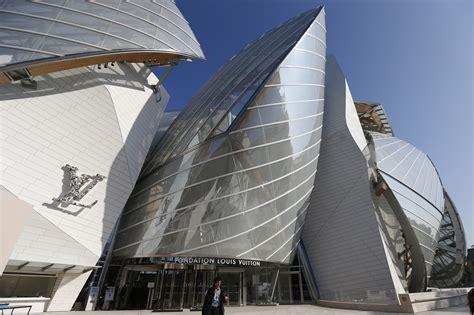louis vuitton gehry designed museum launches art rich week
