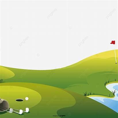 Golf Transparent Material Court Psd Clipart Meadow