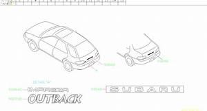 1998 Subaru Impreza Ornament