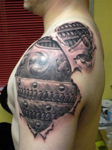 Tatouage Tribal Homme Cou Epaule Tattoo Art