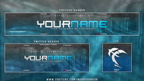 twitter header template photoshop new youtube banner template download free logo banner