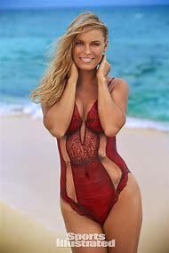 Caroline Wozniacki Sports Illustrated Body Paint
