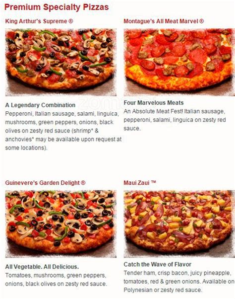 round table pizza menu prices round table pizza menu menu for round table pizza