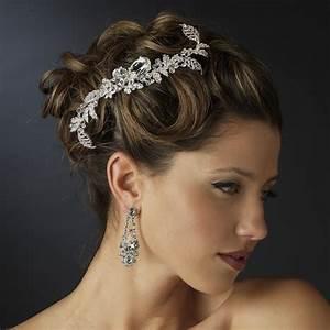 Dazzling Rhinestone Crystal Leaf Comb Elegant Bridal