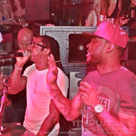 wayne lil story meek mill nightclub rick attends ross miami ymcmb nightlife