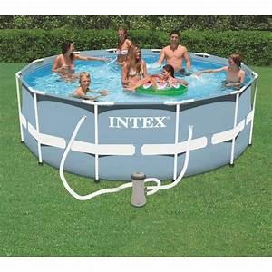 Bestway Ou Intex : kit piscine tubulaire intex ronde 3 66 x 1 22m achat ~ Melissatoandfro.com Idées de Décoration