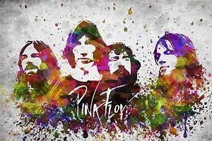 Pink Floyd In Color Digital Art by Aged Pixel