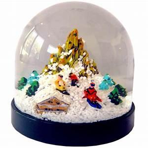 Boule à Neige : boule neige montagne hiver la savoie en direct ~ Teatrodelosmanantiales.com Idées de Décoration