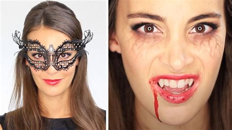 tuto maquillage halloween vampire diaries katherine pierce