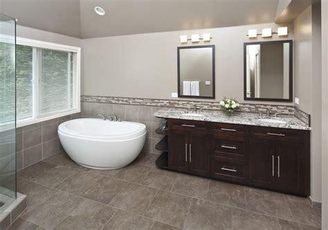 small freestanding tub Bathroom Contemporary with none   beeyoutifullife.com