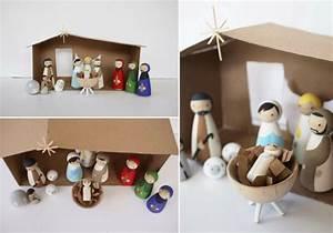 Weihnachtsmann Basteln Aus Pappe : lust zu basteln wie w re es wenn sie eine krippe basteln ~ Haus.voiturepedia.club Haus und Dekorationen