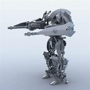 Robot 15 3d Model  U2013 Buy Robot 15 3d Model