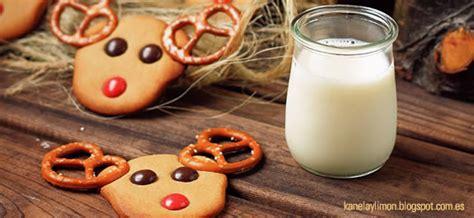 galletas   de reno  navidad recetas  dias
